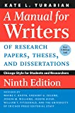 A Manual for Writers of Research Papers, Theses, and Dissertations: Chicago Style for Students and Researchers (Chicago Guides to Writing, Editing, and Publishing)
