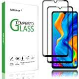 (3 Pack) Beukei for Huawei P30 Lite Screen Protector Tempered Glass,Full Screen Coverage, Anti Scratch, Bubble Free