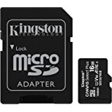 Kingston 16GB microSDHC Canvas Select Plus 100MB/s Read A1 Class 10 UHS-I Memory Card + Adapter (SDCS2/16GB)