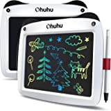 """LCD Writing Tablet Colorful Screen, Ohuhu 2 Pack 9"""" Electronic Drawing Doodle Board, LCD Digital Handwriting Pad Gifts for Ki"""
