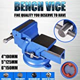 """Bench Vice Mechanic Workshop Table Heavy Duty Steel Grip Clamp NEW for 4""""5""""6"""" Inch"""