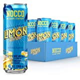 NOCCO - BCAA Sugar Free Energy Drink - 12 Low Calorie, Pre Workout Beverages - Refreshingly Carbonated, Great Tasting Energy