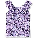 The Children's Place Girls Girls' Short Sleeve Top Cap Sleeve Shirt - Purple