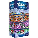 Kleenex Ultra Soft Facial Tissue 3 PLY, Disney Limited Edition, 90ct (Pack of 5)