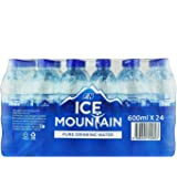 Ice Mountain Pure Drinking Water, 600ml (Pack of 24)