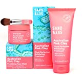 Sand & Sky Perfect Skin Bundle. Australian Pink Clay Face Mask Set