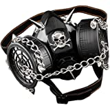 SteamPunk Chain Spike Vintage Cosplay Masuqes Gas Mask Respirator M2
