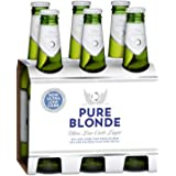 Pure Blonde Ultra Low Carb Lager Beer Bottles, 355 ml (Pack of 6)