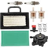 ATVATP 499486 Air Filter for Briggs & Stratton 499486S 499476S 698754 691007 695667 18-26 HP intek V-Twins Lawn Mower & 27363