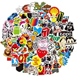 Graffiti Stickers Pack 100-Pcs, YanYoung Fashion Stickers for Laptop, Water Bottle, Skateboard,Motorcycle, Bicycle Aesthetic,