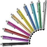 10本セットタッチペン MEKO 指で触れずペン スマートフォン タブレット スタイラスペン iPad iPhone Android 10本セット タッチパネル触れず対策 ゴムペン先