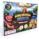 New Baby Dinosaur Rescue Board Game #1 Kids Cooperative Dinosaur Game for Kids Ages 4 to 8 - Teach Children New Skills While