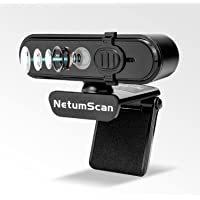 Amazon限定ブランド AutoFocus 1080P 60FPS Webカメラ、プライバシーカバー付き、NetumS…