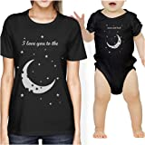 Moon And Back Mom and Baby Matching Gift Shirts For New Moms