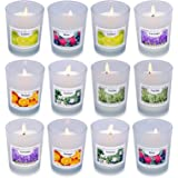 Enamorare Scented Candles Gift Set, 6 Fragrances for Home and Women,Relaxing Stress Relief Aromatherapy-Orange,Vanilla,Lavend