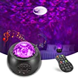 Galaxy Projector AOELLIT Star Light Projector Skylight with Moon, Earth and Planets for Bedroom Ceiling, LED Starlights Music