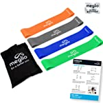 Latex Free Resistance Bands Loops - Premium Fitness Exercise Bands for Fitness Workouts Rehabilitation Yoga Pilates and...