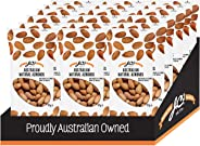 Australian Natural Almonds by JC's Quality Foods - Premium Australian Natural Almonds, Healthy Energy Boosting Snack -18 x 4