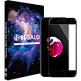 BEGALO iPhone SE (第2世代)/ iPhone8 / iPhone7 / iPhone6s / iPhone6 用 ガラスフィルム 全面 保護 ガラス フィルム 0.25mm 強化ガラス 【日本製素材旭硝子製】 3D Touch対応