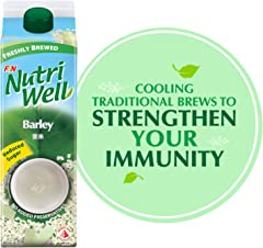 NutriWell Barley Drink, 1L - Chilled