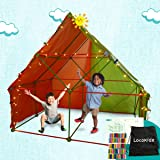 Fort Building Kit for Kids | Build Indoor Blanket Forts with The Ultimate Fort Builder | Large 386 Pieces Fort Magic Building