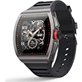 [1.4-inch Full Touch Smart Watch] GPS Running Watch with a Blood Pressure/Heart Rate Test, Calorie Calculator/Female Menstrua