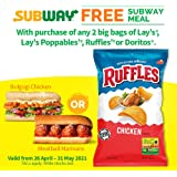 Ruffles Chicken Potato Chips 184g