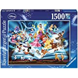 Ravensburger 163182 Disney Magical Storybook 1500pc,Adult Puzzles