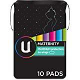 U BY KOTEX Maxi's U By Kotex Maternity Pads Non Wings (Pack of 10), Pack of 10 0.172 kilograms
