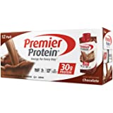Premier Protein 30g Protein Shakes, Chocolate 11 Fluid Ounces - Economy Special size of 12 Pack total