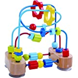 Fat Brain Toys Beads Coaster - WhoopsyDoo Bead Coaster Early Learning Toys for Babies