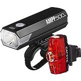 CAT EYE - AMPP500 Rechargeable Bike Headlight and Rapid Mini Rear Safety Light
