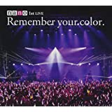 1stライブアルバム+DVD 初回生産限定盤 「Remember your color.」