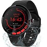 TMYIOYC Smart Watch, IP68 Waterproof Fitness Watch, Activity Tracker HR, Smart Bracelet with Pedometer, Sleep Monitor, Call &