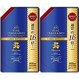 【まとめ買い】ファーファファインフレグランス柔軟剤 オム 800ml 詰替 クリスタルムスクの香り ×2個パック
