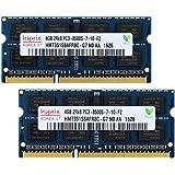 Hynix ノートPC用 DUALメモリ DDR3-1066 PC3-8500S (4GB×2) Side3[並行輸入]