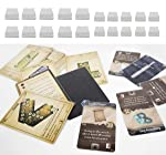 Dephia 2000 Ct Gloomhaven Board Games Card Sleeves Great Fit 1000 Card Sleeves for Standard Cards and 1000 for Mini...
