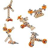 Hape E3031 Junior Inventor Starter Kit - Wooden Building Set