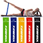 VINMEX Fitness Bands Set of 5, Fitness Band, Exercise Band, Resistance Bands, Resistance Bands, Fitness Band for Yoga...
