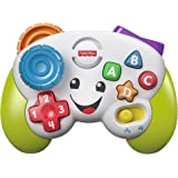 Fisher-Price Laugh & Learn Game & Learn Controller, Musical Toy with Lights and Learning Content for Baby and Toddler Ages 6-