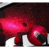 Romantic Auto Roof Star Projector Lights,Usting 2019 Flexible USB Night Lamp Fit All Cars SUV Truck Ceiling Decoration Light