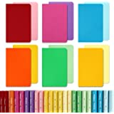 EOOUT 24pcs Small Notebook, Colorful Pocket Notebook with Wide Ruled Paper, Travel Journals for Students, Traveler, Kids and