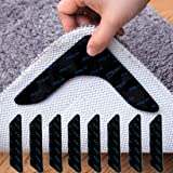 超強力 滑り止めシート 12枚入り カーペット マット ズレない すべり止めテープ 転倒防止 洗える 長持ち ズレない じゅうたんの反るを防ぐ 色々なマットに適応 繰り返し使用できる