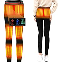 電熱パンツ 8つヒーター 独立温度設定可能 ヒーターズボン 腰・腹・膝・足首同暖 電熱インナーウェア 電熱ロングパンツ…