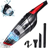 Fityou Handheld Vacuum Cordless, Upgraded 5800PA Super Suction Power Car Vacuum for Wet & Dry Clean, Portable Vacuum Cleaner