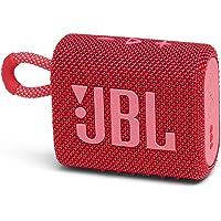JBL GO 3 Bluetoothスピーカー USB C充電/IP67防塵防水/パッシブラジエーター搭載/ポータブル…