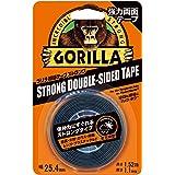 Gorilla Glue ゴリラ強力両面テープ ストロング 25.4mm×1.52m