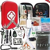 hosum 救急セット ファーストエイド キット 災害 登山 アウトドア サバイバル 旅行 自宅 携帯用 緊急応急 救急…