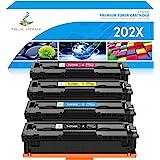 True Image Compatible Toner Cartridge Replacement for HP 202X CF500X CF500A 202A HP Color Laserjet Pro MFP M281fdw M281cdw M2