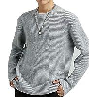 WEEN CHARMセーター メンズ ニットセーター クルーネックニット カットソー メンズ ニット トップス シンプル…